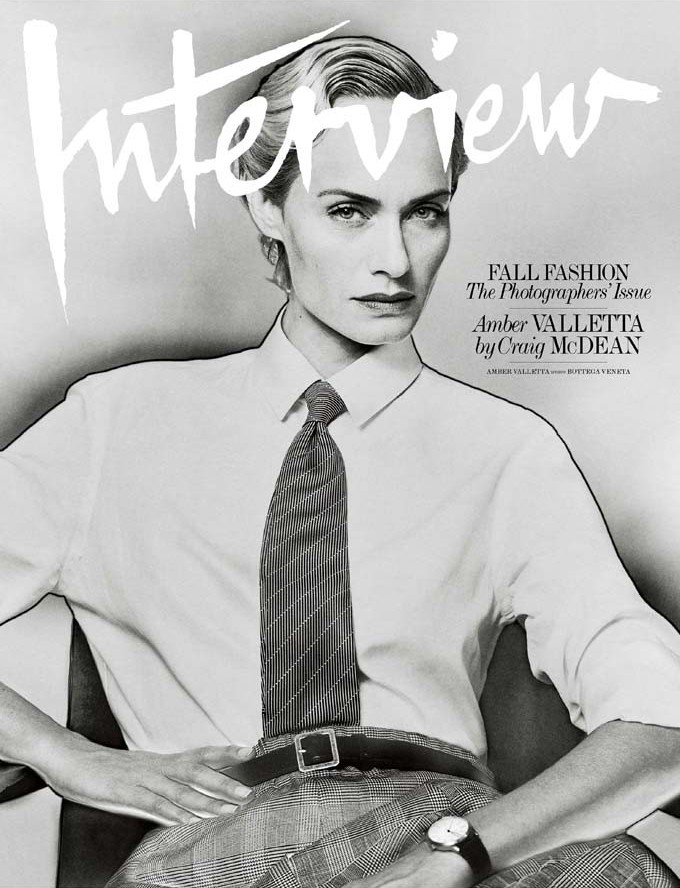 Amber Valletta for Interview Magazine