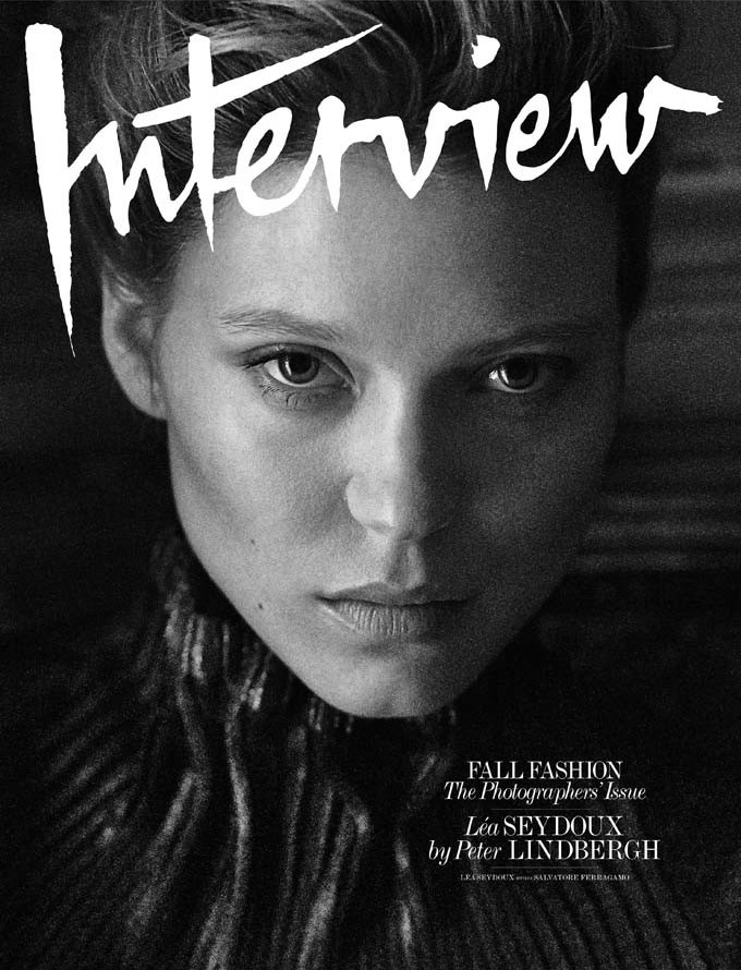 Léa Seydoux for Interview Magazine