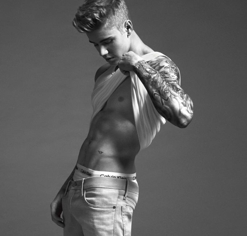 Justin Bieber Calvin Klein Underwear