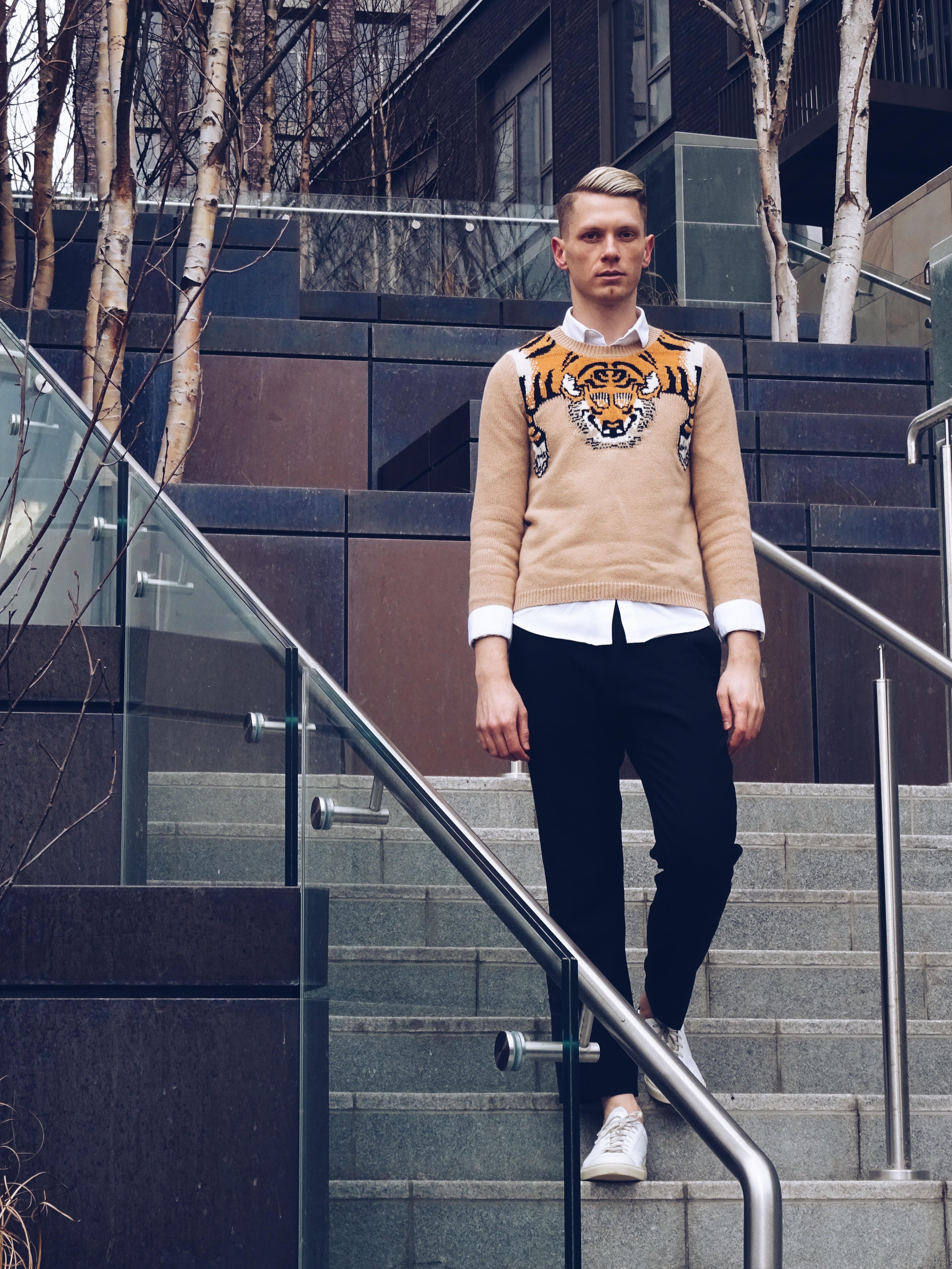 Gucci Tiger Jumper SS16