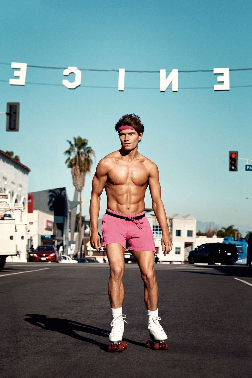GQ Style UK Oliver Cheshire Speedo