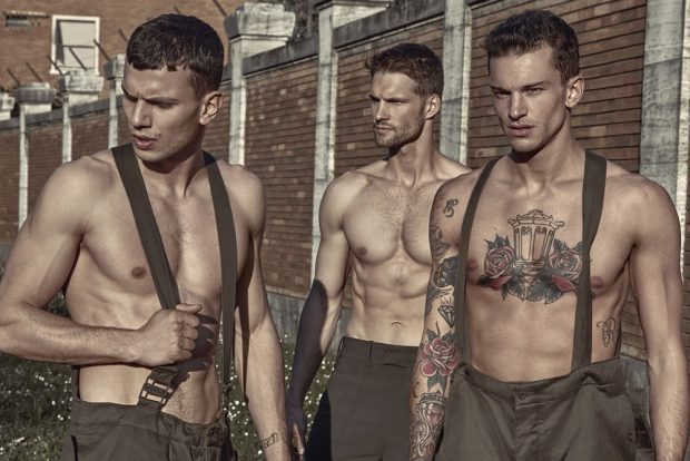 Male Model Fashion War