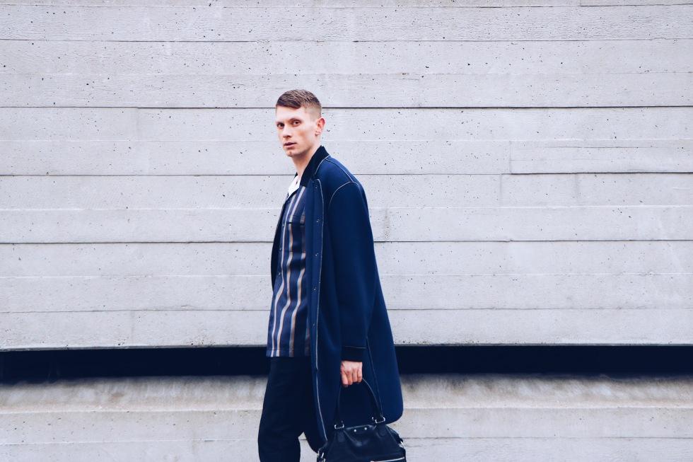3.1 Phillip Lim shirt coat London  menswear